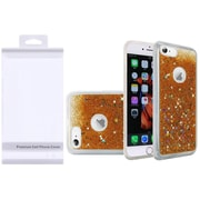 Insten Liquid Quicksand Glitter Fused Flexible Hybrid Case with Package For Apple iPhone 6s Plus / 6 Plus - Gold