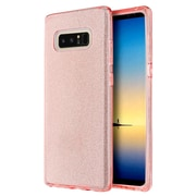 Insten Starry Dazzle PC/TPU Rubber Hybrid Case Cover for Samsung Galaxy Note 8 - Pink
