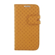 Insten Leather Wallet Flip Credit Card Pouch Case Cover For Samsung Galaxy S4 - Brown