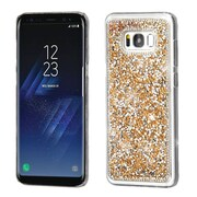 Insten Crystal Hard Snap-in Case Cover With Diamond Compatible Samsung Galaxy S8 Plus S8+ - Rose Gold
