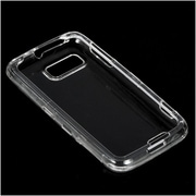 Insten Crystal Hard Snap On Protective Back Shell Case Cover For Motorola Atrix 2 MB865 - Clear