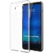 Insten TPU Gel Rubber High Quality Crystal Candy Skin Case Cover for LG V30 - Clear