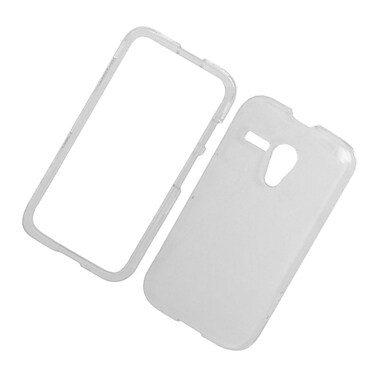 Insten Hard Snap On Back Protective Case Cover For Motorola Moto G - Clear