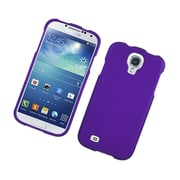 Insten Rubberized Hard Snap On Protective Case Cover For Samsung Galaxy S4 - Purple