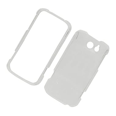 Insten Hard Snap On Back Protective Case Cover For ZTE Flash - Clear
