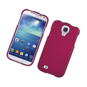 Insten Rubberized Hard Snap On Protective Case Cover For Samsung Galaxy S4 - Hot Pink