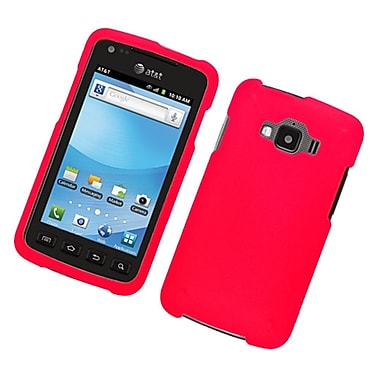 Insten Rubberized Hard Snap On Protective Case Cover For Samsung Rugby Smart - Red