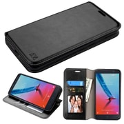 Insten MyJacket Wallet Stand Flip Leather Case with Card Slot For ZTE Blade Max 3 - Black