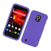 Insten Rubberized Hard Snap On Protective Case Cover For ZTE Majesty / Source - Purple