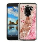 Insten Quicksand Glitter Eiffel Tower Case for Alcatel A30/A30 Fierce (2017)/Revvl (T-Mobile)/Revvl 5049W/Walters - Pink