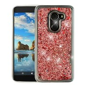 Insten Quicksand Glitter Case for Alcatel A30/A30 Fierce (2017)/Revvl (T-Mobile)/Revvl 5049W/Walters - Rose Gold