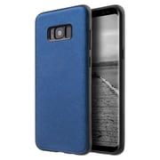 Insten Saffiano Lite Luxury Rubber TPU Case Cover For Samsung Galaxy S8 Plus S8+ - Blue