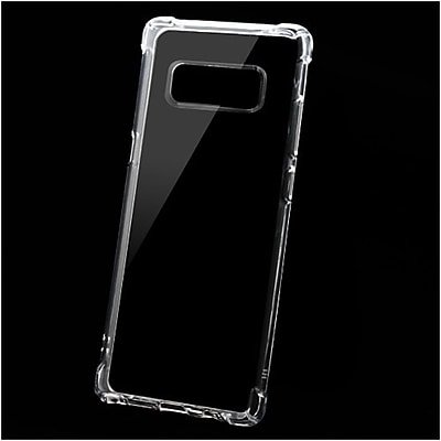 Insten TPU Rubber Candy Skin Case Cover for Samsung Galaxy Note 8 - Clear 24226601
