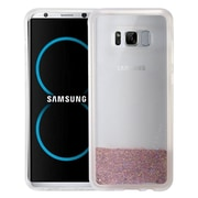 Insten Quicksand Hard Glitter TPU Case For Samsung Galaxy S8 Plus - Rose Gold