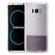 Insten Quicksand Hard Glitter TPU Cover Case For Samsung Galaxy S8 Plus - Purple