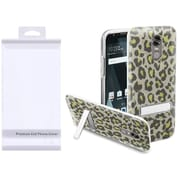 Insten Leopard Hard Plastic TPU Cover Case w/stand For LG Stylo 3/Stylo 3 Plus