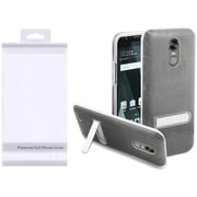 Insten Hard Plastic TPU Cover Case w/stand For LG Stylo 3/Stylo 3 Plus - Smoke