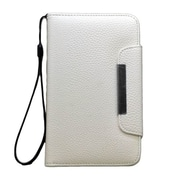 Insten Leather Wallet Flip Credit Card Pouch Case Cover For Samsung Galaxy Note II - White