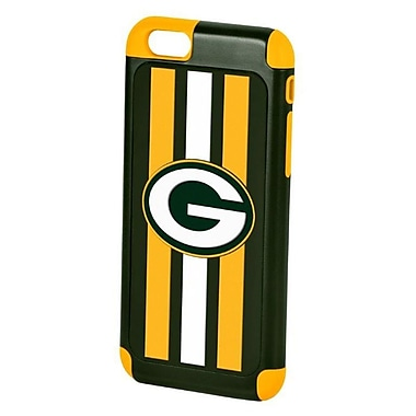 Insten Green Bay Packers Hybrid Dual Layer Hard PC/TPU Shockproof Case Cover For Apple iPhone 6 / 6s - Green/Yellow