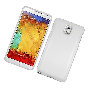 Insten Rubberized Hard Snap On Protective Case Cover For Samsung Galaxy Note 3 - White