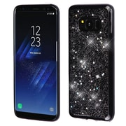 Insten Starry Sky (Black) Krystal Gel Series TPU Rubber Candy Skin Case For Samsung Galaxy S8+ S8 Plus - Silver