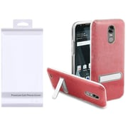 Insten Hard Plastic TPU Case w/stand For LG Stylo 3/Stylo 3 Plus - Red