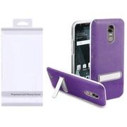 Insten Hard Plastic TPU Case w/stand For LG Stylo 3/Stylo 3 Plus - Purple