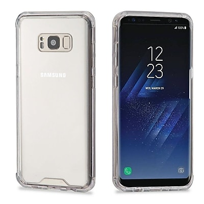 Insten Transparent TPU Sturdy Gummy Cover Rubber Gel Case For Samsung Galaxy S8 - Clear 24224483