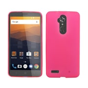 Insten Frosted TPU Case For ZTE Max XL N9560 - Hot Pink