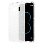 Insten TPU Rubber Candy Skin Shell Back Gel Case Cover For Samsung Galaxy S8 Plus S8+ - Clear