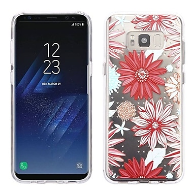 Insten Spring Daisies Glassy SPOTS Premium TPU Candy Skin Cover For Samsung Galaxy S8 - Multi-Color