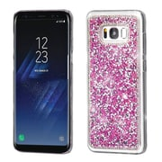Insten Crystal Hard Snap-in Case Cover With Diamond Compatible Samsung Galaxy S8 Plus S8+ - Hot Pink