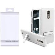 Insten Hard Plastic TPU Case w/stand For LG Stylo 3/Stylo 3 Plus - Clear