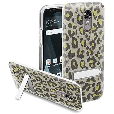 Insten Leopard Hard Plastic TPU Cover Case w/stand For LG Stylo 3/Stylo 3 Plus - Neon Green