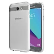 Insten Crystal TPU Rubber Candy Skin Back Gel Case Cover For Samsung Galaxy J7 (2017) - Clear