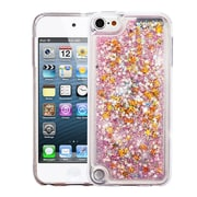 Insten Stars Quicksand Glitter Hybrid Hard PC/TPU Case Cover For Apple iPod Touch 5th Gen / 6th Gen - Pink