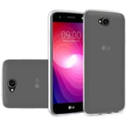 Insten Rubber Cover Case For LG X Power 2 - Clear