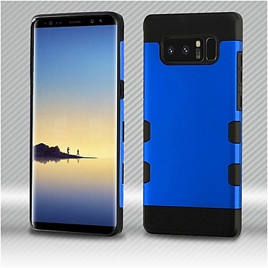 Insten Dual Layer Hybrid PC/TPU Rubber Case Cover for Samsung Galaxy Note 8 - Blue/Black