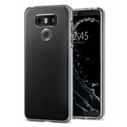 Insten Crystal TPU Rubber Candy Skin Back Gel Case Cover For LG G6 - Clear