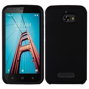 Insten Astronoot Dual Layer [Shock Absorbing] Hybrid Hard Plastic/Soft TPU Rubber Case Cover For Coolpad Defiant - Black