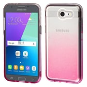 Insten Gradient Sheer Glitter Premium TPU Case For Galaxy Amp Prime 2/Express Prime 2/J3 (2017)/J3 Prime - Pink