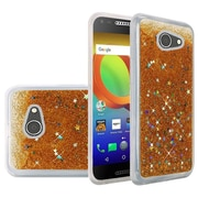 Insten Quicksand Hard Glitter TPU Case For Alcatel A30 - Gold