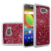 Insten Quicksand Hard Glitter TPU Cover Case For Alcatel A30 - Hot Pink