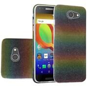 Insten Hybrid Glitter PC/TPU Transparent Case Cover For Alcatel A30 - Colorful