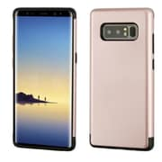 Insten Dual Layer Hybrid PC/TPU Rubber Case Cover for Samsung Galaxy Note 8 - Rose Gold