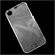 Insten Hard Snap On Back Protective Case Cover For Apple iPhone 4 / 4S - Clear