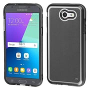 Insten Premium TPU Candy Skin Rubber Back Shell Case For Galaxy Amp Prime 2/Express Prime 2/J3 (2017)/J3 Prime - Smoke
