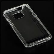 Insten Crystal Hard Snap On Protective Back Shell Case Cover For Samsung Galaxy S2 Attain I777 - Clear