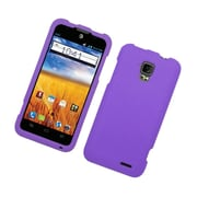 Insten Rubberized Hard Snap On Protective Case Cover For ZTE Mustang - Purple
