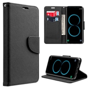 Insten Leather Flip Wallet Pouch Stand Protective Case Cover For Samsung Galaxy S8 Plus S8+ - Black